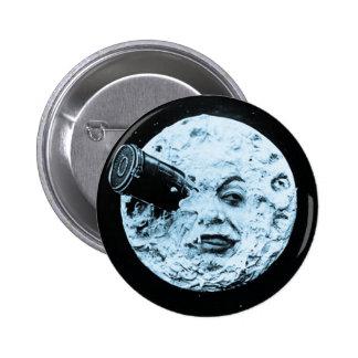 Un viaje a la luna pin redondo 5 cm