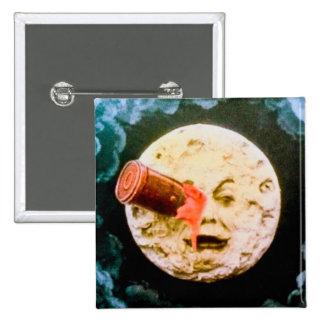 Un viaje a la luna pin cuadrado