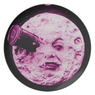Un viaje a la luna platos de comidas