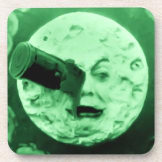 Un viaje a la luna posavaso