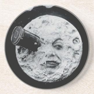 Un viaje a la luna posavasos diseño