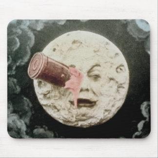 Un viaje a la luna alfombrilla de ratón