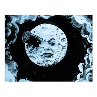 Un viaje a la luna postal