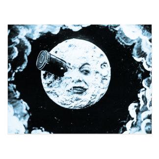 Un viaje a la luna tarjetas postales