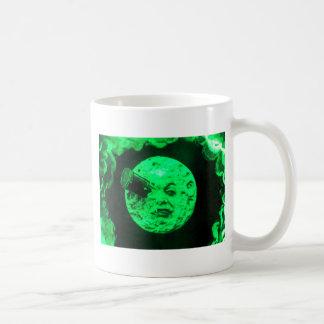 Un viaje a la luna taza de café