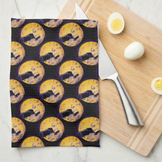 Un viaje a la pesadilla de la púrpura del sueño toallas de cocina