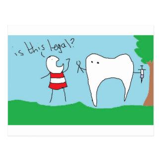 Un viaje a la postal del dentista
