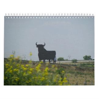 Un viaje a través de España Calendarios