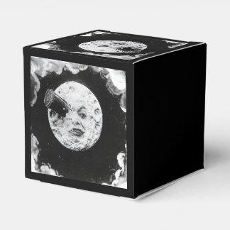 Un viaje al vintage de Lune del la de los dans de Caja Para Regalos