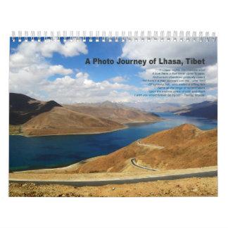 Un viaje de la foto de Lasa Tíbet - calendario 20