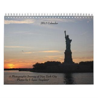 Un viaje fotográfico de New York City Calendarios