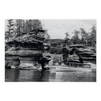 Un viaje más bajo del barco de Wisconsin de los De Impresiones
