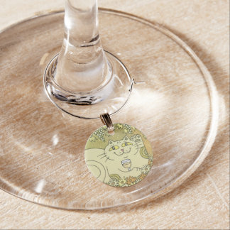 Un vidrio agradable de Pinot Grigio Identificadores De Copas