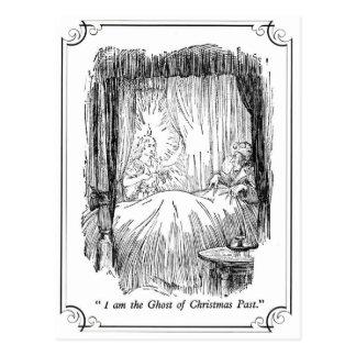 Un villancico del navidad: El fantasma del navidad Tarjetas Postales