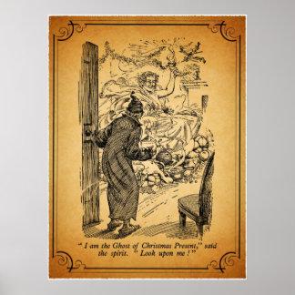 Un villancico del navidad: El fantasma del regalo Poster