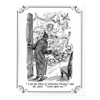 Un villancico del navidad: El fantasma del regalo Postal