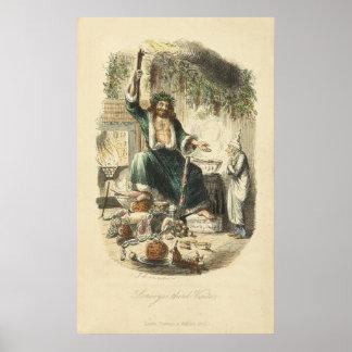 Un villancico del navidad: El tercer visitante de Poster