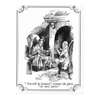 Un villancico del navidad: Le frecuentarán Postal