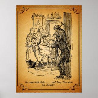Un villancico del navidad: Pequeño Bob y Tim Impresiones
