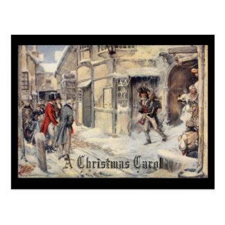 Un villancico del navidad postal