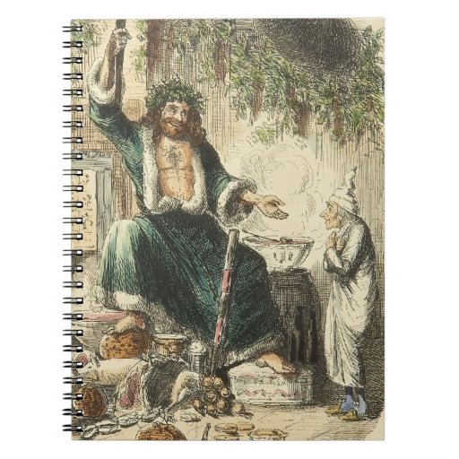 Un villancico, un Scrooge y un fantasma del navida Libros De Apuntes