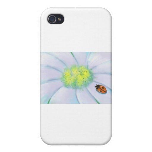 """Un visitante minúsculo "" iPhone 4 Carcasa"