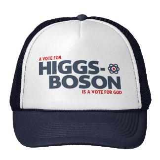 ¡Un voto para el Higgs-Bosón es un voto para dios! Gorras