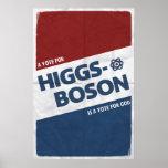 ¡Un voto para el Higgs-Bosón es un voto para dios! Impresiones