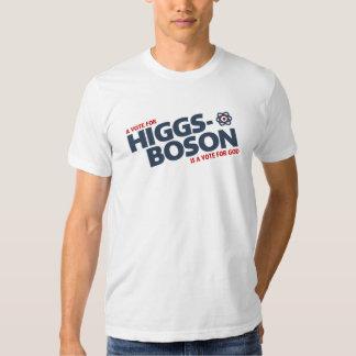 ¡Un voto para el Higgs-Bosón es un voto para dios! Playeras