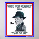 """Un voto para el poster """"uno de Romney de nosotros"""