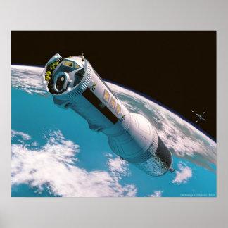 Un vuelo rutinario a la luna impresiones
