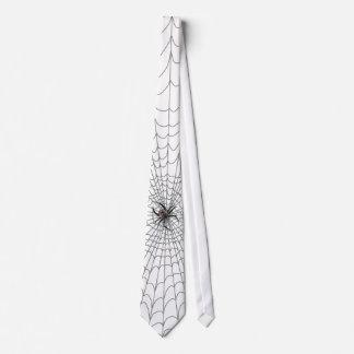 Un Web de arañas Corbata Personalizada