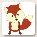 Un zorro rojo lindo posavaso