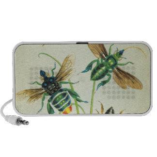 Un zumbido de abejas Doodle altavoces del ordenado