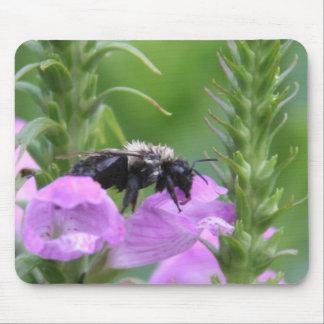 Una abeja triste alfombrilla de ratón