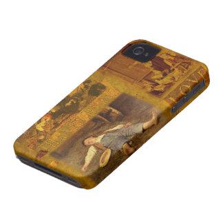 Una acción de gracias cariñosa iPhone 4 Case-Mate carcasas
