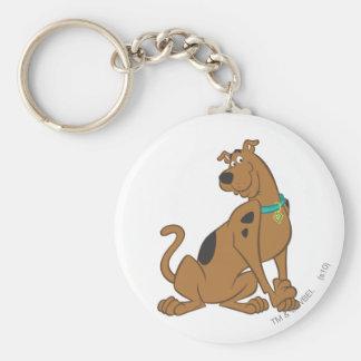 Una actitud que linda más linda 12 de Scooby Doo Llavero Redondo Tipo Pin