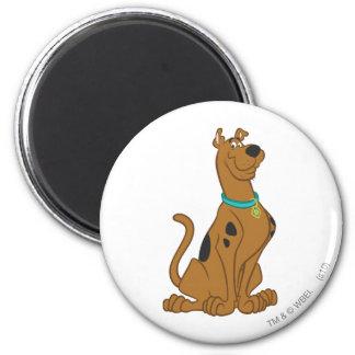 Una actitud que linda más linda 15 de Scooby Doo Imán Redondo 5 Cm
