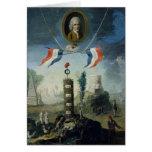 Una alegoría de la revolución tarjeta de felicitación