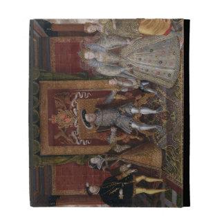 Una alegoría de la sucesión de Tudor: La familia d