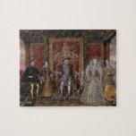 Una alegoría de la sucesión de Tudor: La familia d Rompecabezas Con Fotos