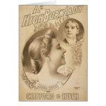 """Una altos señora, """"Clifford y Huth llevados"""", Maud Tarjetón"""