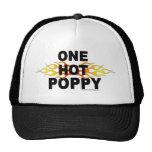 Una amapola caliente gorras de camionero