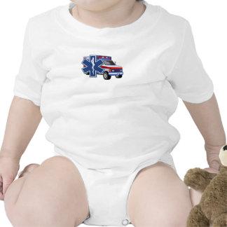 Una ambulancia del ccsme trajes de bebé