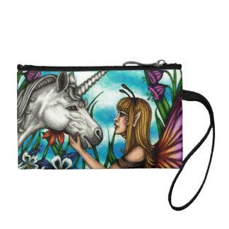 Una amistad mágica Hada y mitón del unicornio