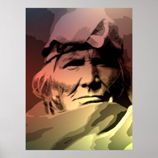 Una anciano de Zuni Impresiones