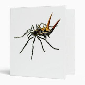 """Una araña orbe-que teje spined carpeta 1"""""""