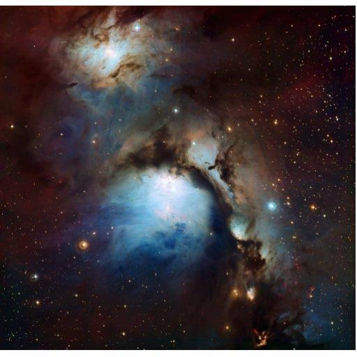 Una astronomía de espacio más sucia 78 de la nebul esculturas fotográficas