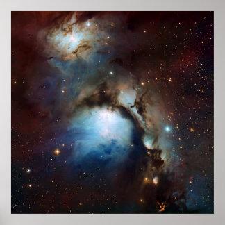 Una astronomía de espacio más sucia 78 de la nebul posters