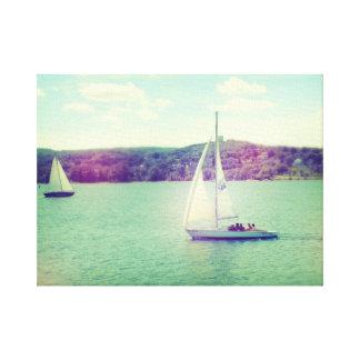 Una aventura de la navegación del verano lona envuelta para galerías